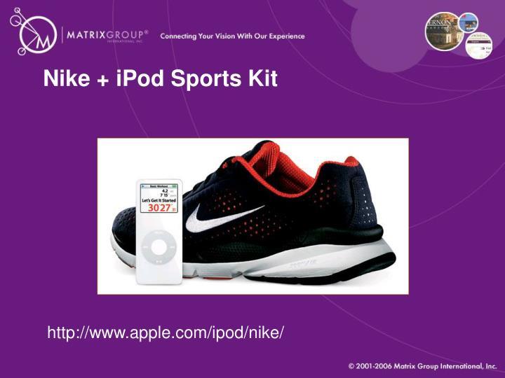 Nike + iPod Sports Kit