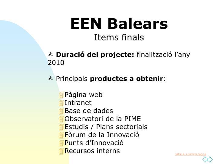 EEN Balears