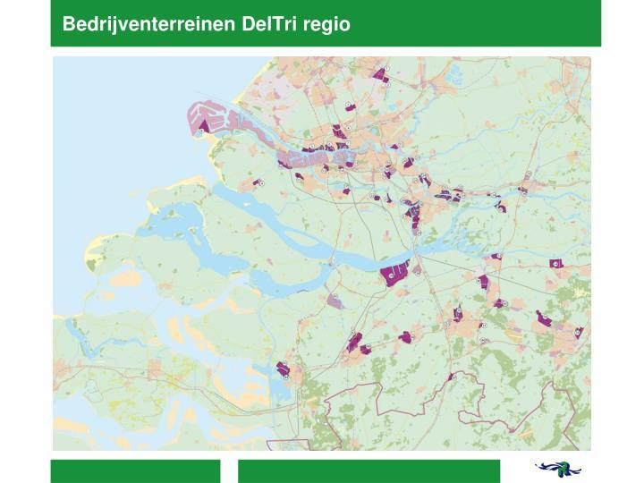 Bedrijventerreinen DelTri regio