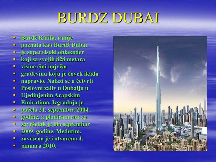 BURDZ DUBAI