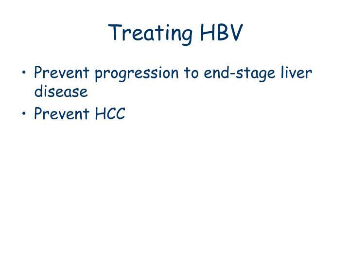 Treating HBV