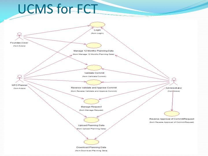 UCMS for FCT