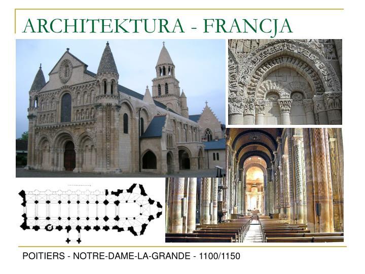 ARCHITEKTURA - FRANCJA