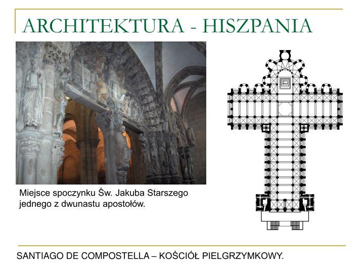 ARCHITEKTURA - HISZPANIA