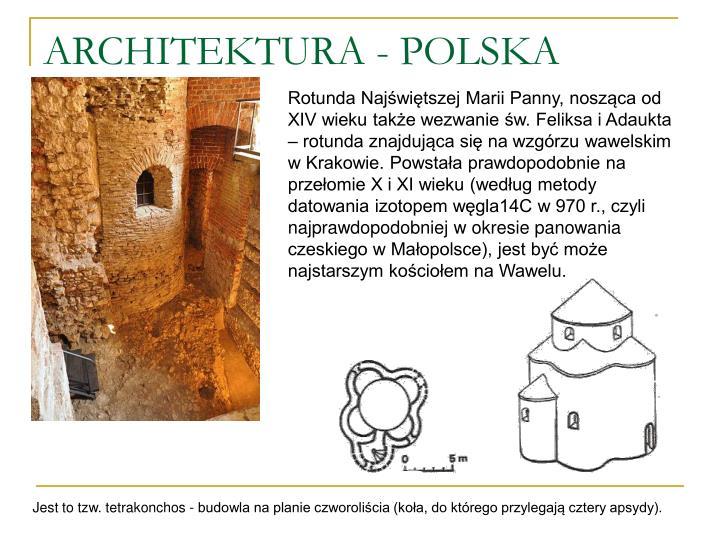 ARCHITEKTURA - POLSKA
