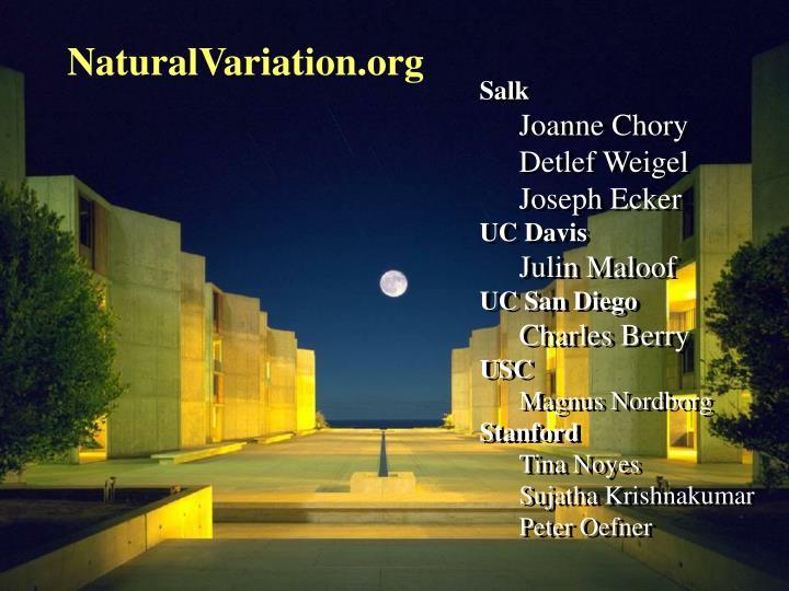NaturalVariation.org