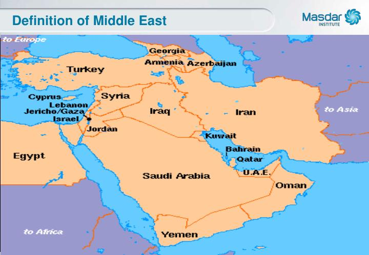 Definition of middle east