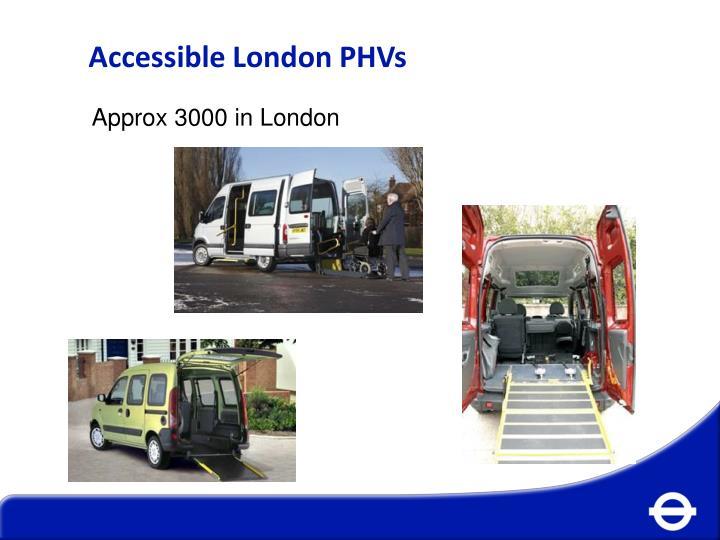 Accessible London PHVs