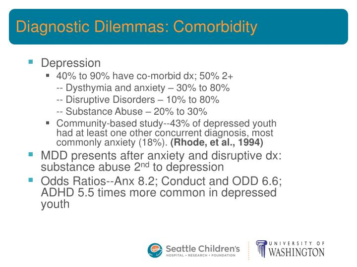 Diagnostic Dilemmas: Comorbidity