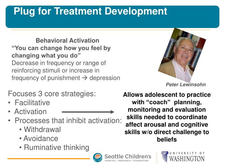 Plug for Treatment Development