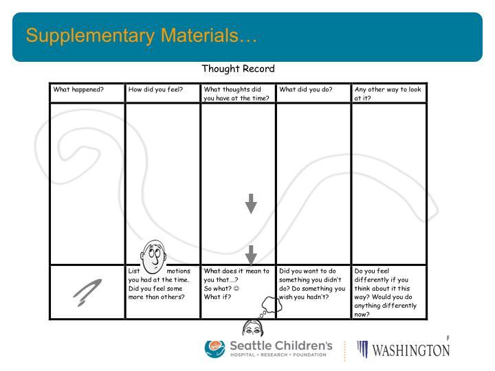 Supplementary Materials…