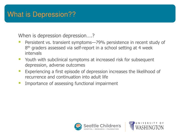 What is Depression??