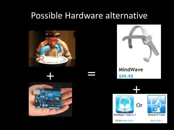 Possible Hardware alternative