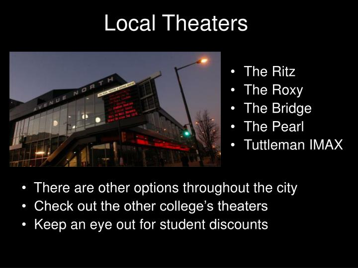 Local Theaters