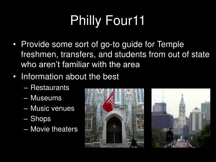 Philly four111