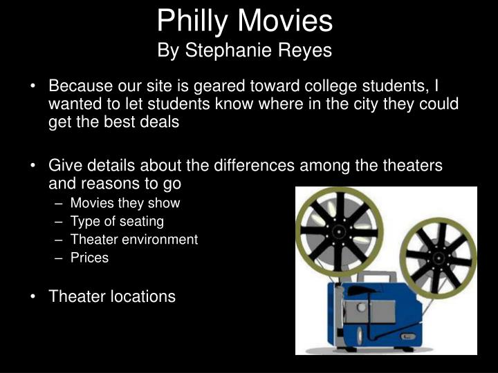 Philly Movies