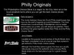 philly originals