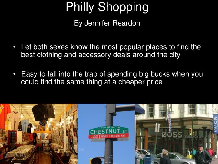 Philly Shopping