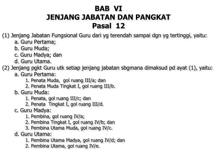 BAB  VI