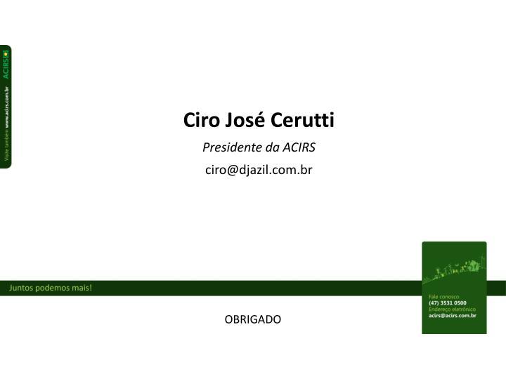 Ciro José