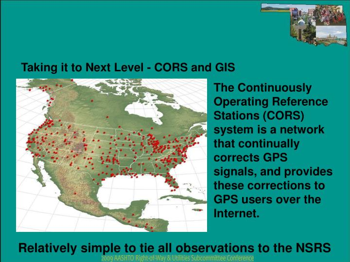 Taking it to Next Level - CORS and GIS