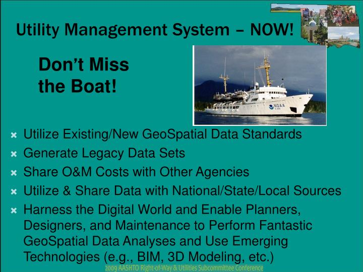 Utility Management System – NOW!