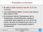 principales conclusiones1