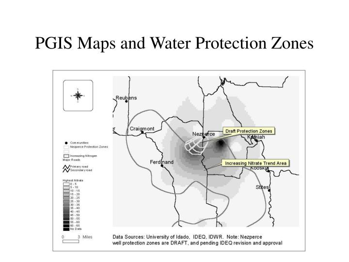 PGIS Maps and Water Protection Zones