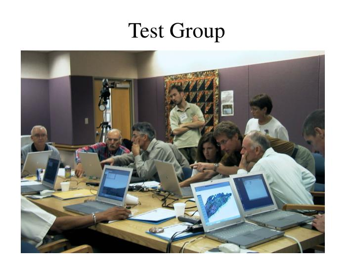 Test Group