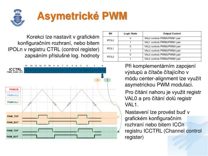 Asymetrické PWM