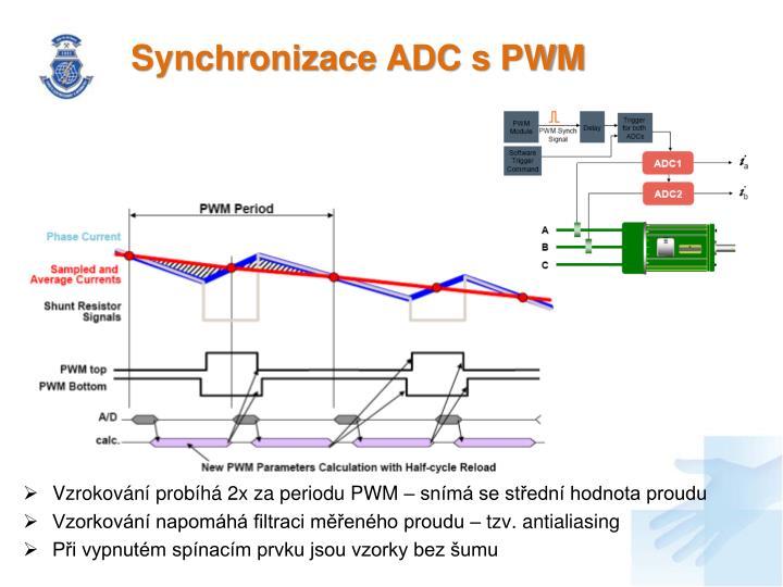 Synchronizace ADC s PWM