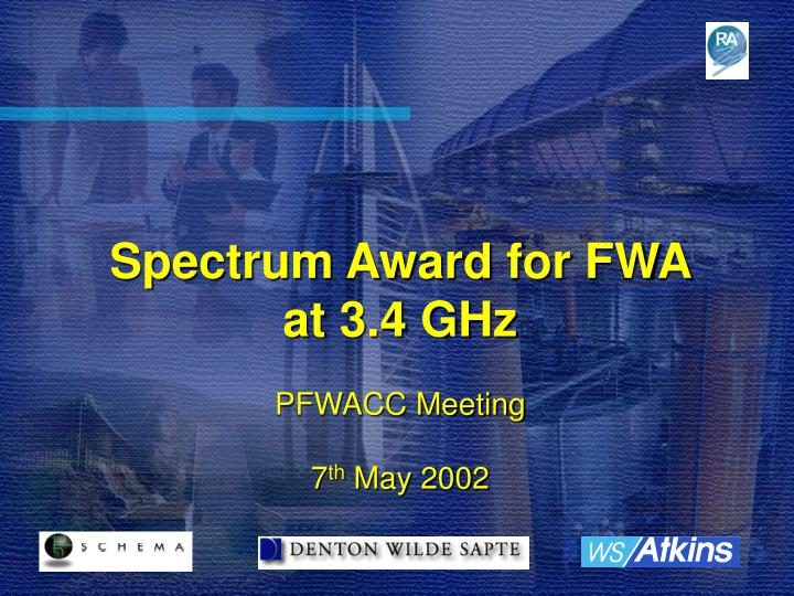 Spectrum Award for FWA