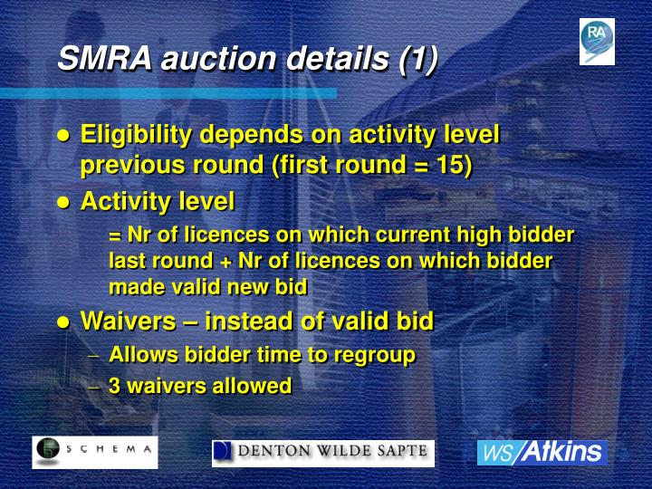 SMRA auction details (1)