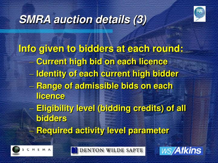 SMRA auction details (3)