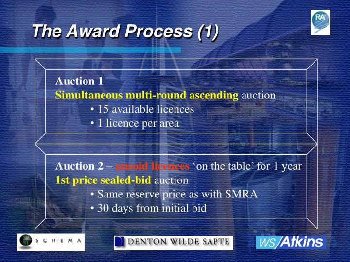 The Award Process (1)