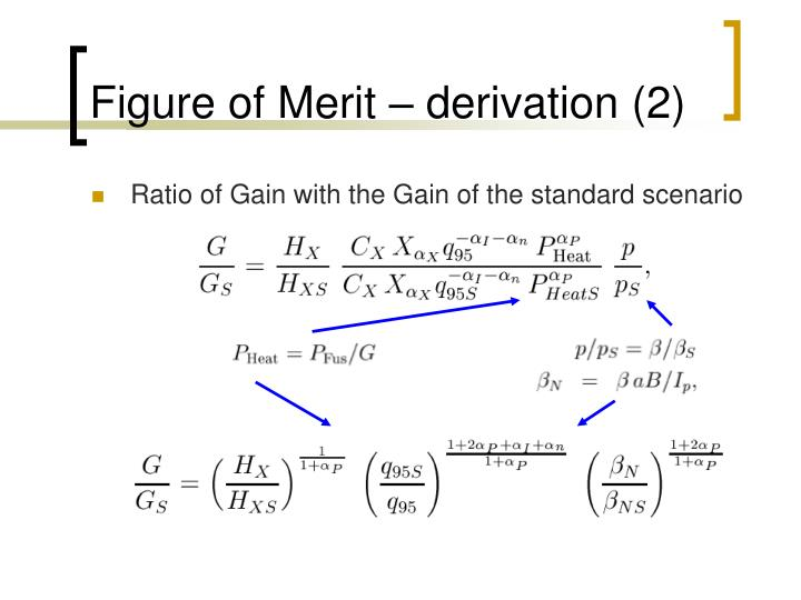 Figure of Merit – derivation (2)