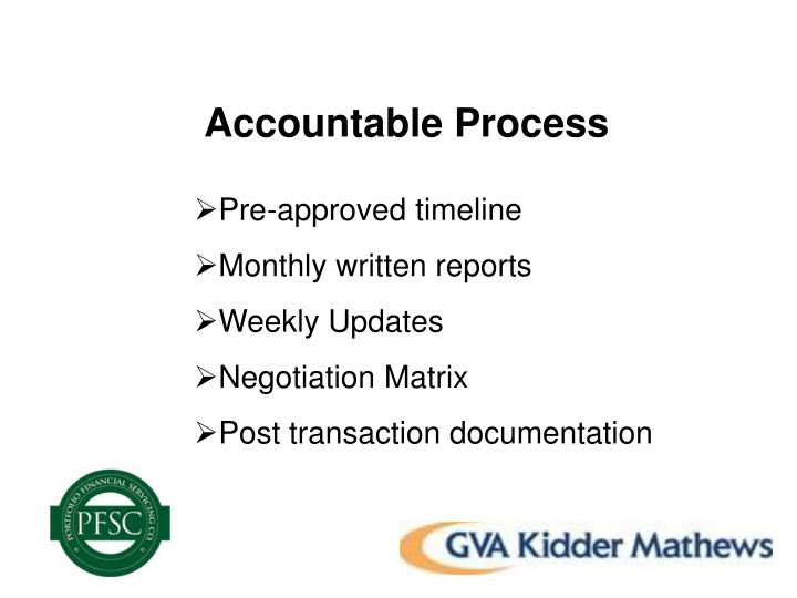 Accountable Process