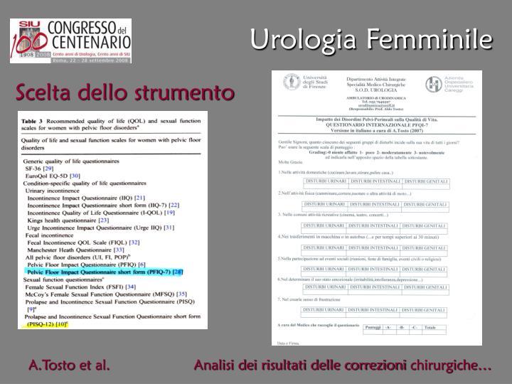 Urologia Femminile