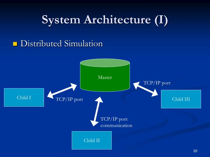 System Architecture (I)