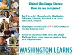 global challenge states how do we compare