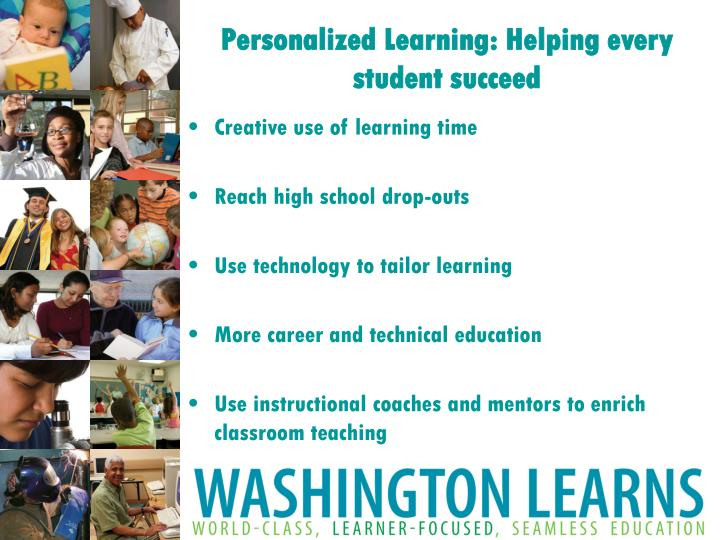 Personalized Learning: Helping every student succeed