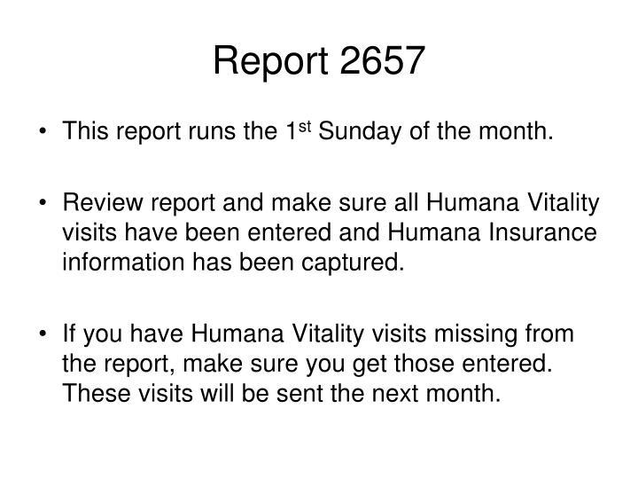 Report 2657