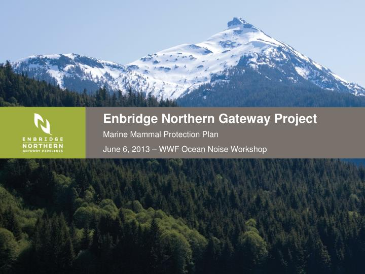 northern gateway project Ultimately, there are concerns that the northern gateway project stands counter  to two much needed priorities for canada: the affirmation of the right of.