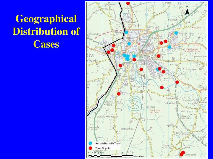 Geographical Distribution of Cases