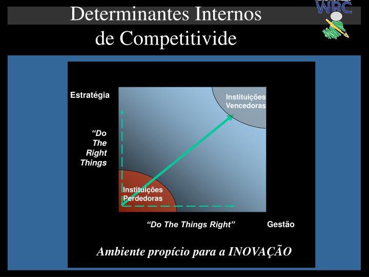 Determinantes Internos