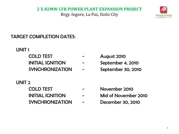 2 X 82MW CFB POWER PLANT EXPANSION PROJECT