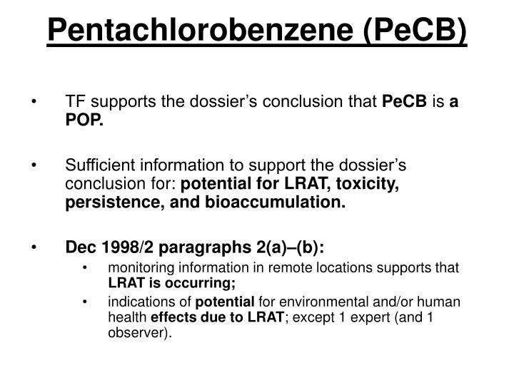 Pentachlorobenzene (PeCB)