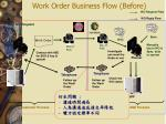 work order business flow before2