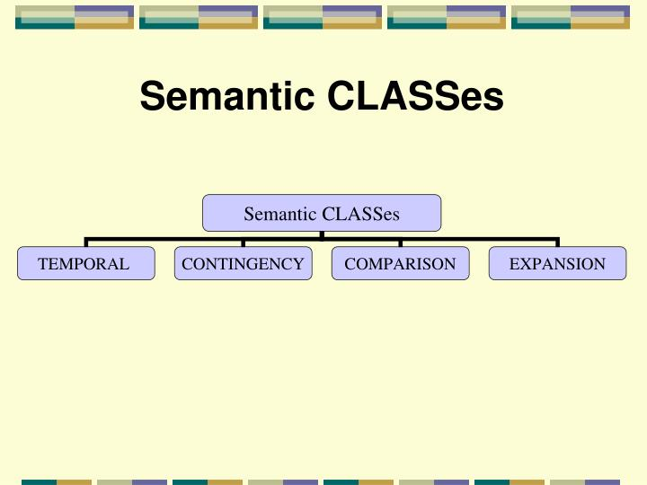 Semantic CLASSes