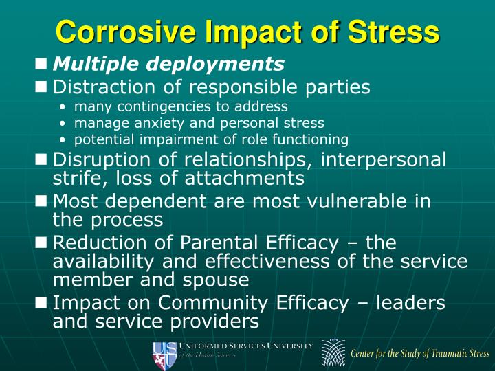 Corrosive Impact of Stress